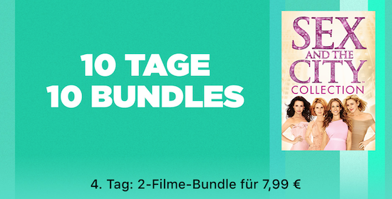 10 Tage 10 Bundles Bei Itunes Heute Die Sex And The City