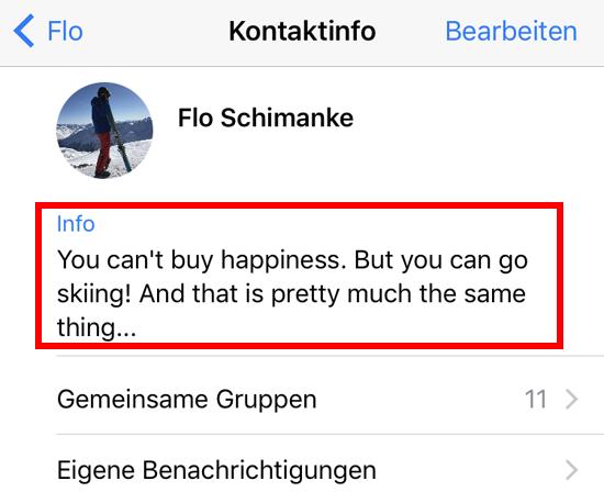 Whatsapp Update Bringt Den Alten Text Status Zurück Flos