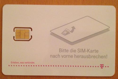 telekom nano sim karte bestellen nano SIM Karten werden verteilt; Schablonen verfügbar   Flo's
